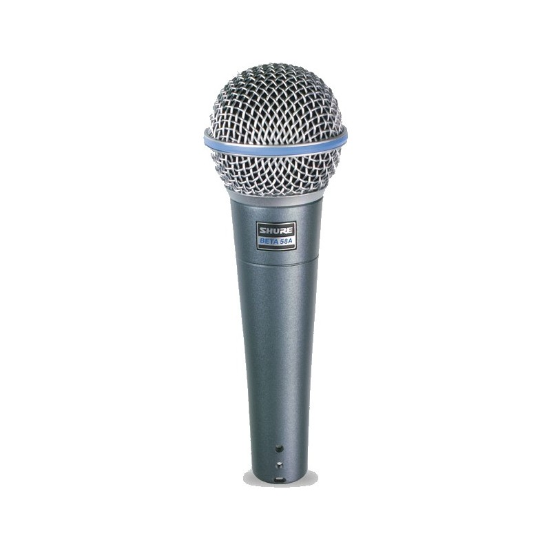 Shure beta 58A micrófono vocal supercardioide