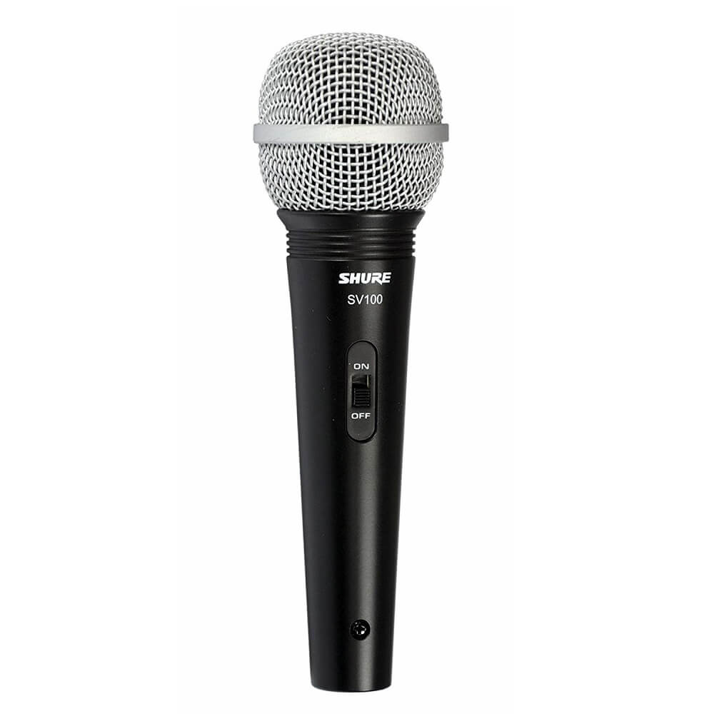 Shure sv100 micrófono vocal con cable xlr
