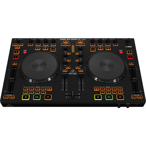 Behringer Cmd Studio 4a Controlador Para Dj De 4-deck E Interface De Audio De 4 Canales