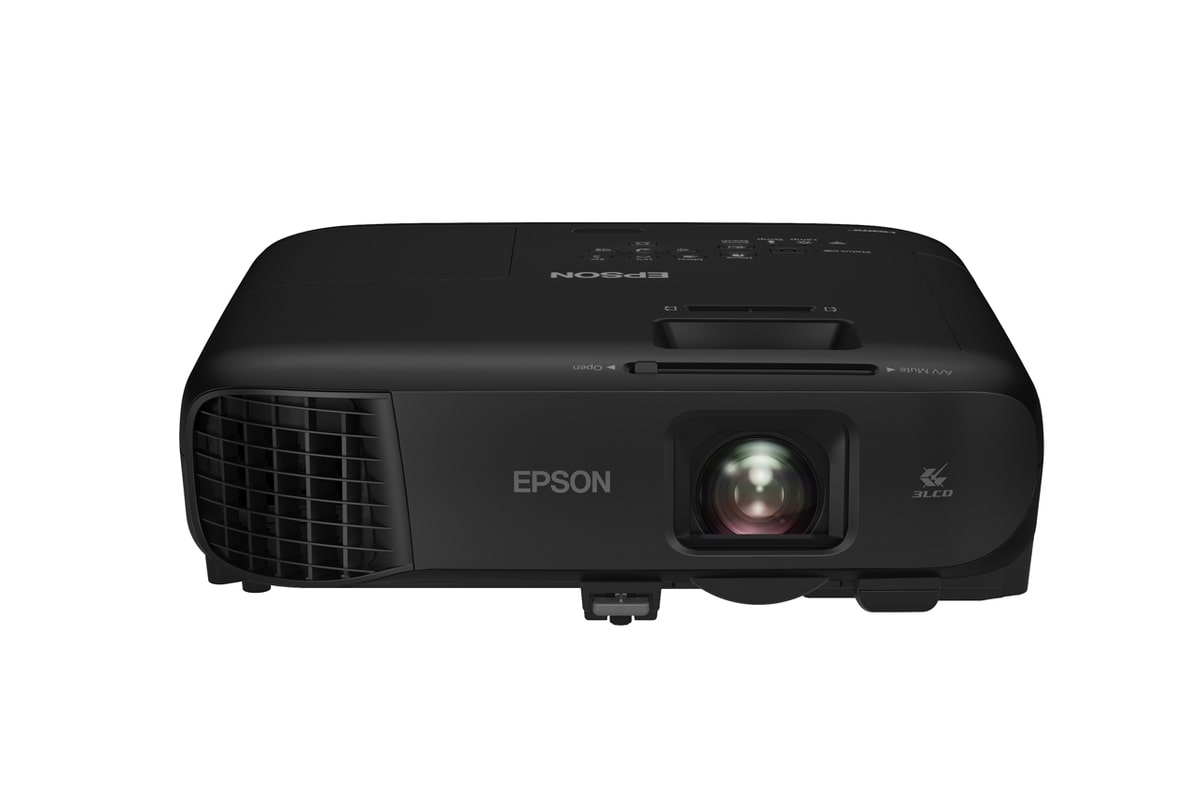 Proyector V11h978021 Epson Powerlite Fh52+