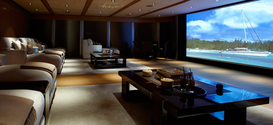 Audio y video home theater